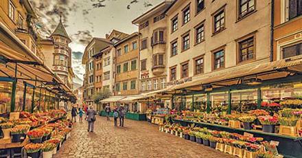 Einkaufsstraße in Bozen