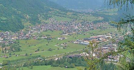 Blick über Mezzano