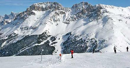 Wintersport in Vigo di Fassa